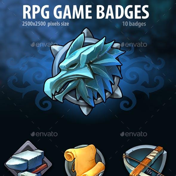 RPG Game Badges