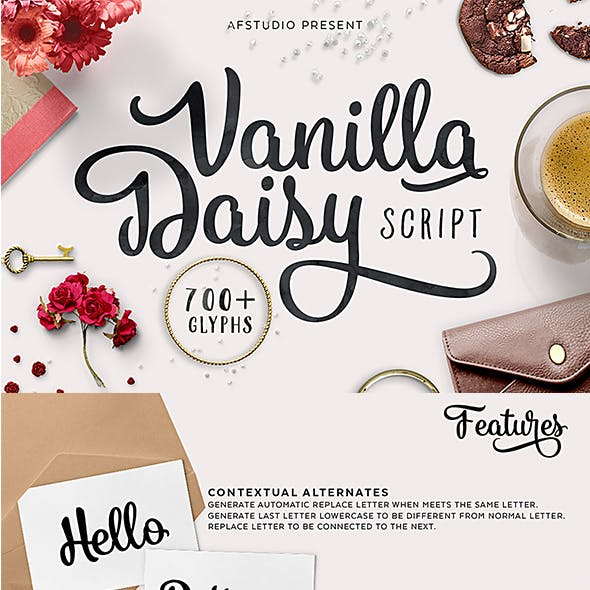 Flower Fonts from GraphicRiver