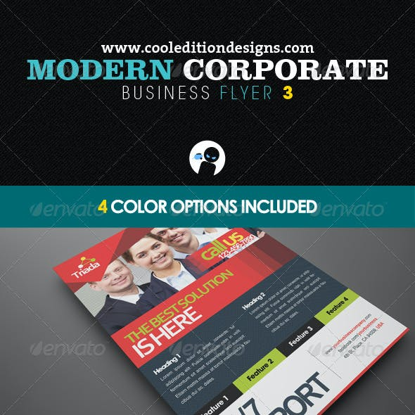 Modern Corporate Business Flyer 3