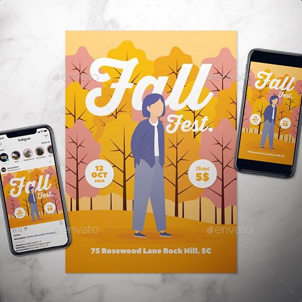 Fall Flyer Set