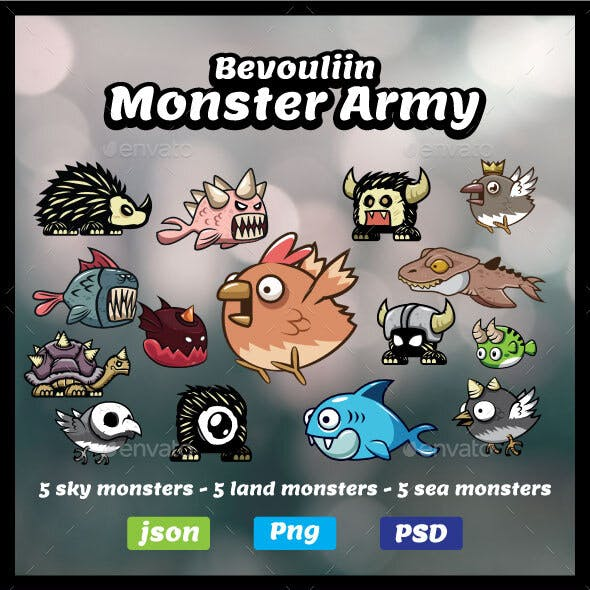 Bevouliin Monster Army