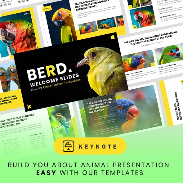 Animal and Pets Keynote Presentation Template