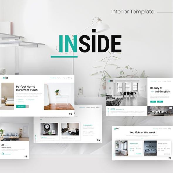 Inside Interior Presentation Keynote Template
