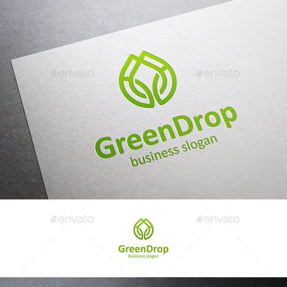 Green Drop Logo