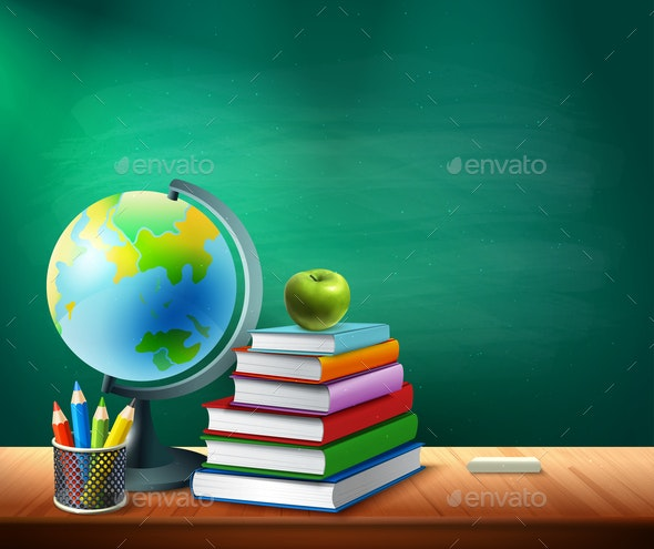 Back To School Background - Miscellaneous Vectors