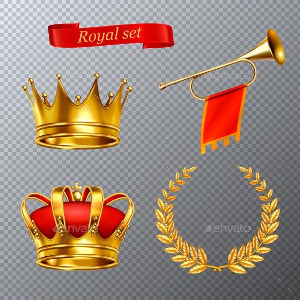 Royal Transparent Set - Miscellaneous Vectors