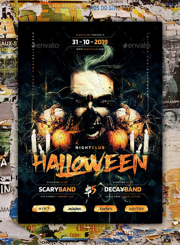 Halloween Flyer/Poster - Holidays Events