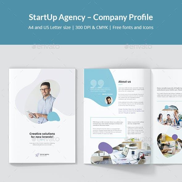 StartUp Agency – Company Profile