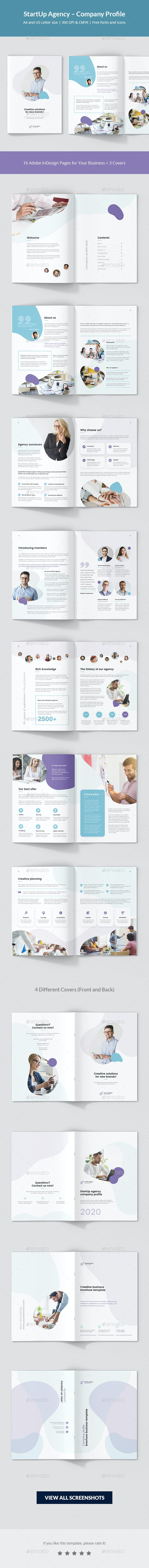 StartUp Agency – Company Profile - Corporate Brochures