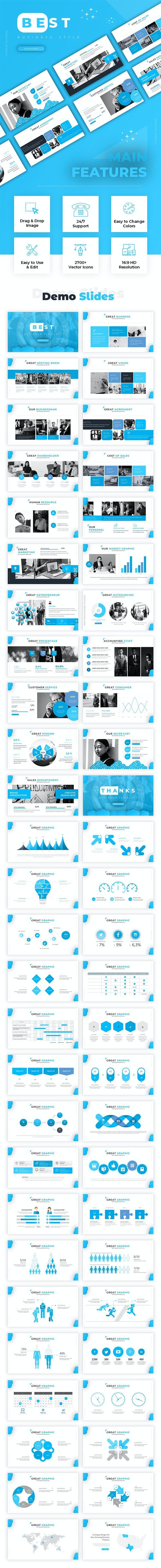 Best Business Powerpoint - PowerPoint Templates Presentation Templates