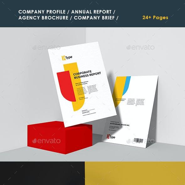 Company Profile Graphics, Designs & Templates from GraphicRiver