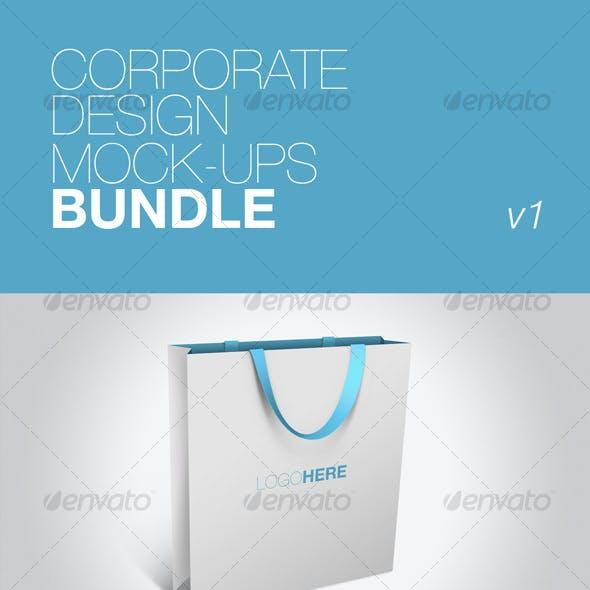 Corporate Design Mock-ups Bundle v1