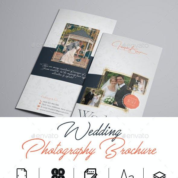 Wedding Photography Tri-Fold Brochure