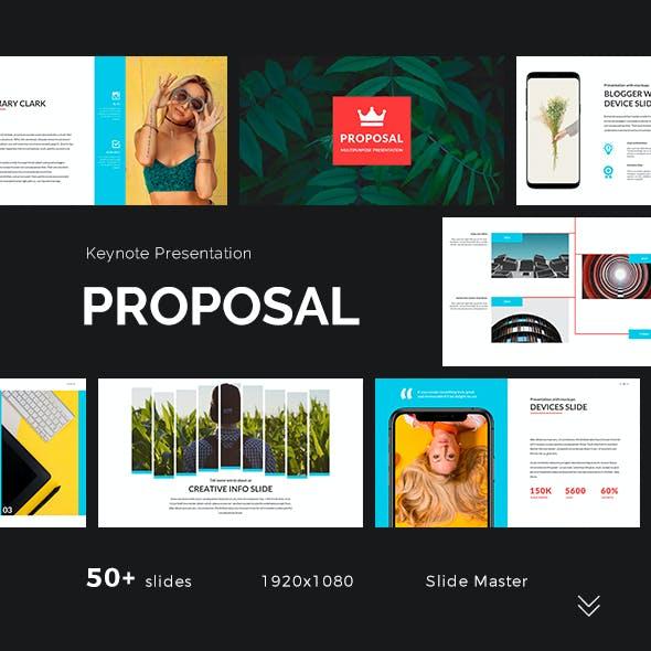 Proposal Keynote Presentation