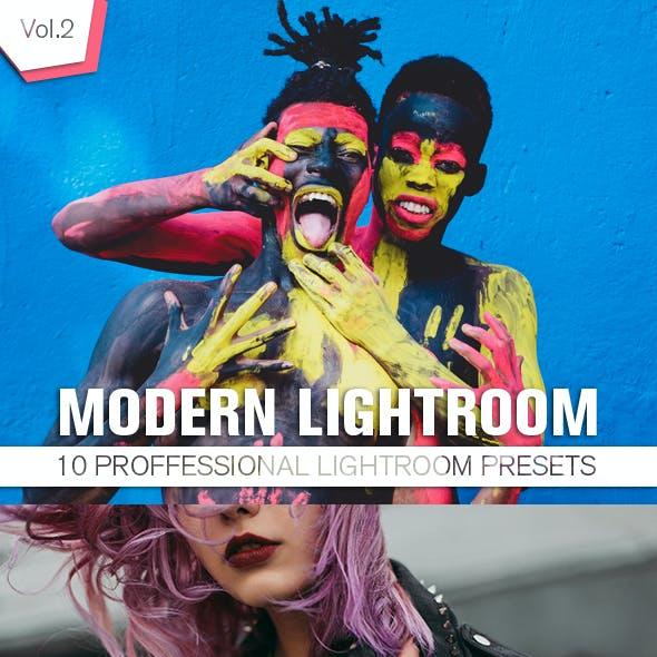 10 Modern Lightroom Presets Vol.2
