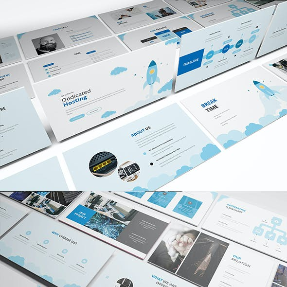 Hosting Powerpoint Presentation Template