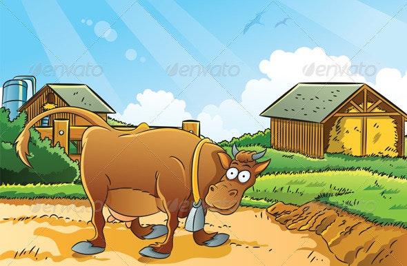 Farm Background - Landscapes Nature