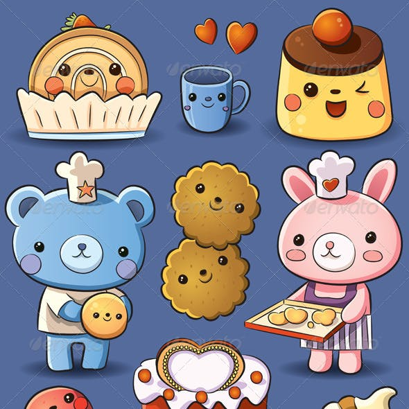Cute Cakes and Ice Cream