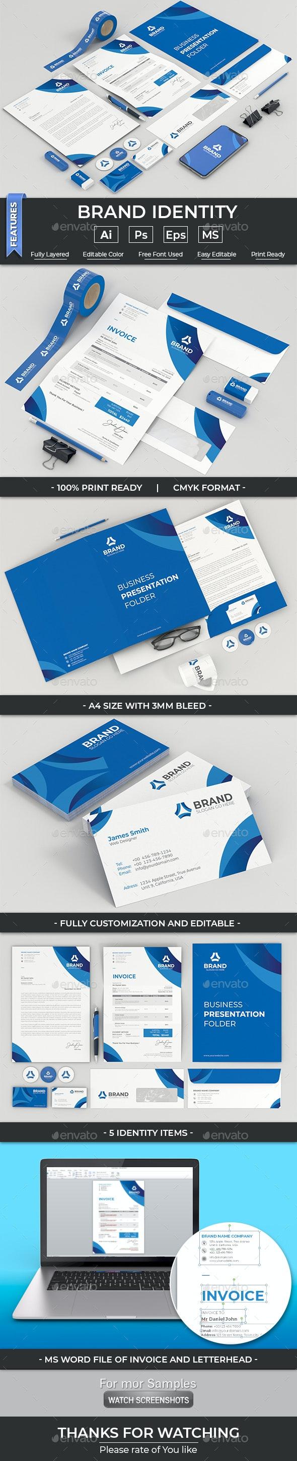 Brand Identity - Stationery Print Templates