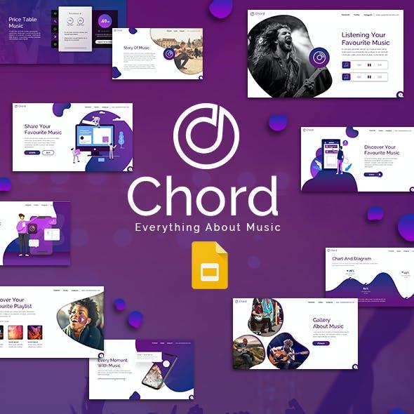 Chord Google Slides Template