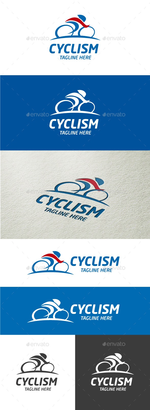Cyclism - Sports Logo Templates