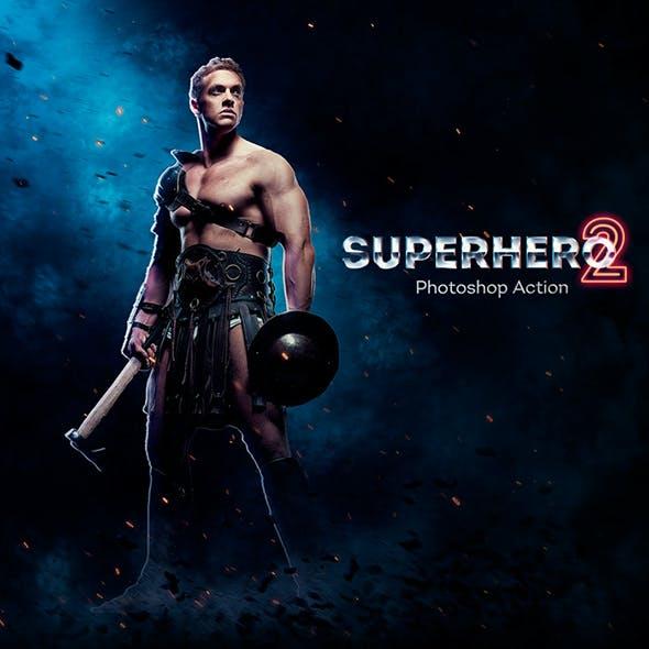 SuperHero 2 Photoshop Action