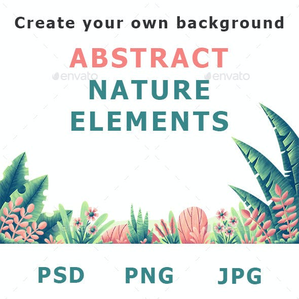 Abstract Nature Elements