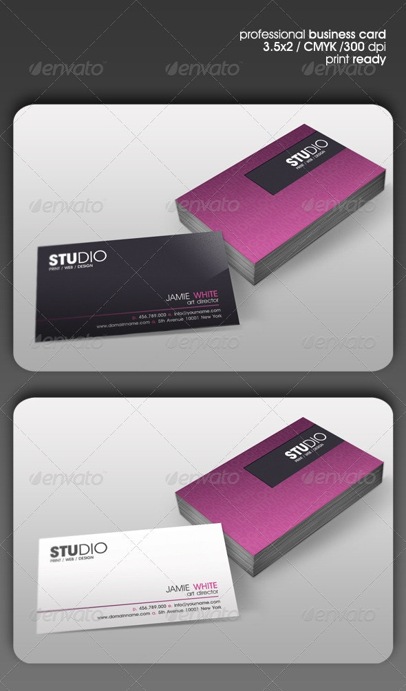 Studio Business Card - Corporate Business Cards