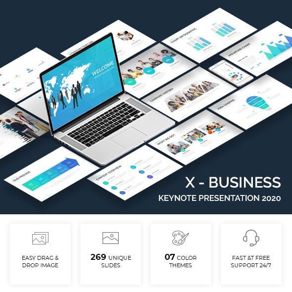 X - Business Keynote Template 2020