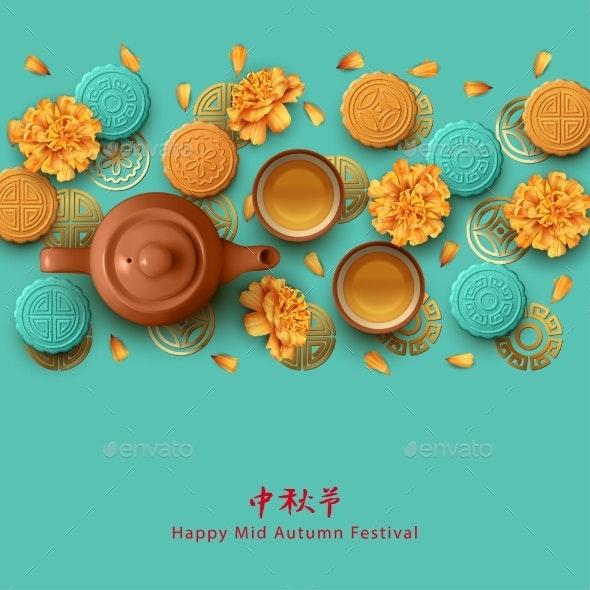 Mid Autumn Festival - Seasons/Holidays Conceptual