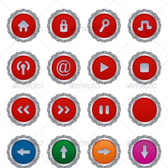 Button plates