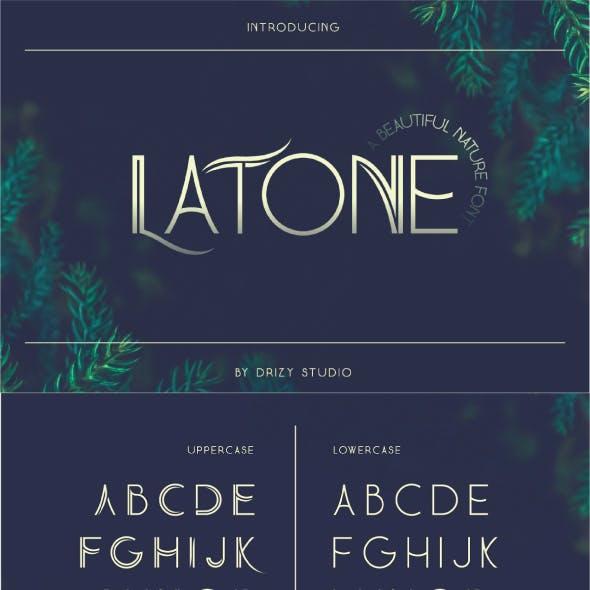 Latone A Beautiful Nature Font