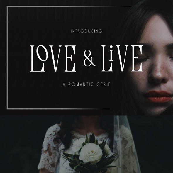 Love & Life Romantic Serif Font