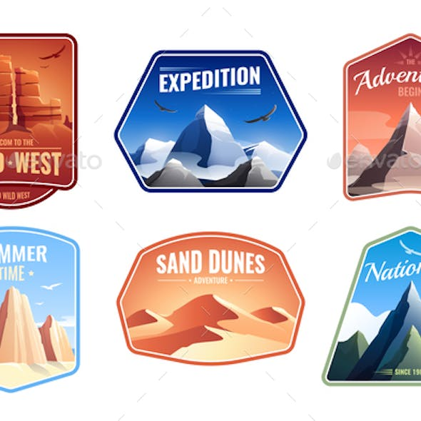 Rock Mountain Vectors from GraphicRiver
