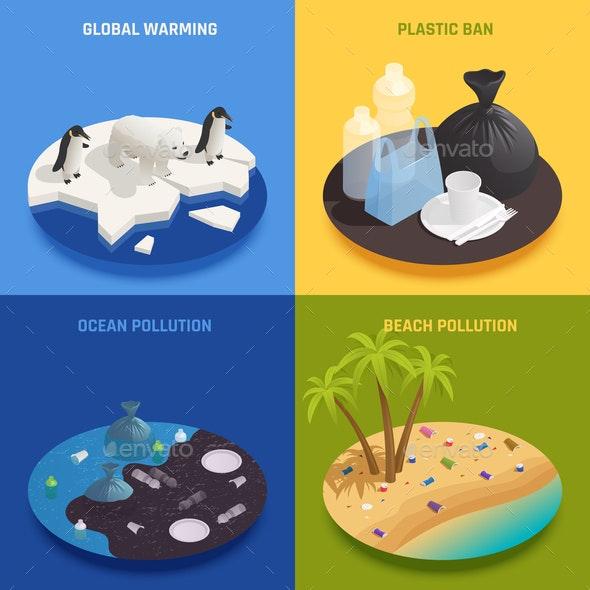 Sea Pollution Design Concept - Computers Technology