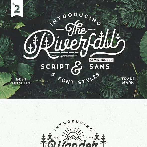 Riverfall SemiRounded