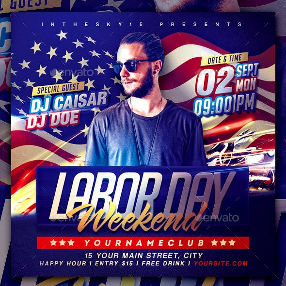Labor Day Weekend Flyer