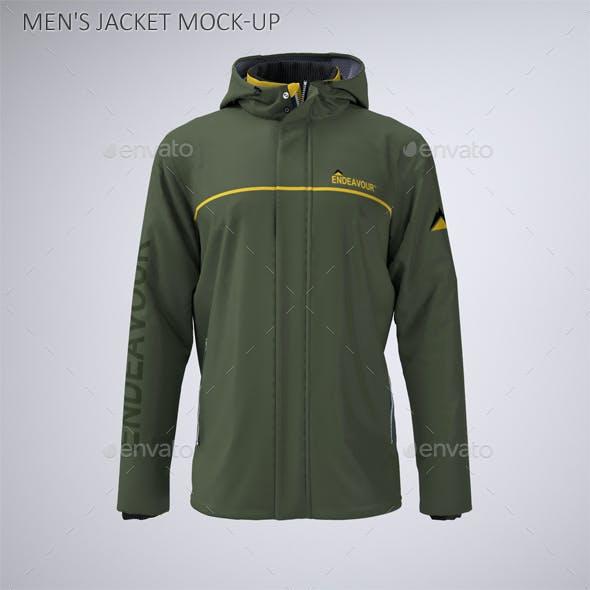 Men's Work Jacket Mock-Up