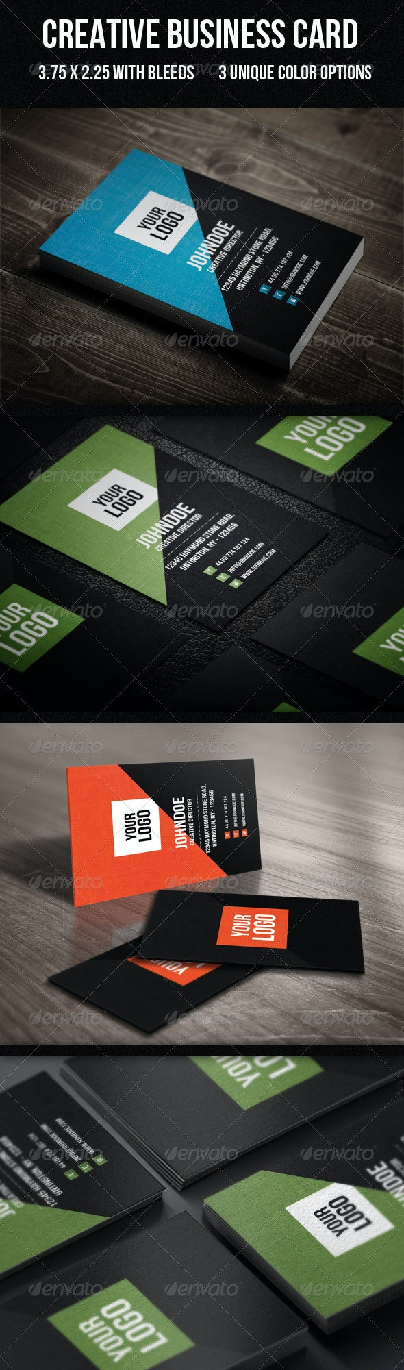 Clean Coporate Business card - Corporate Business Cards