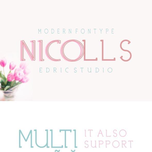 Nicolls Font Family