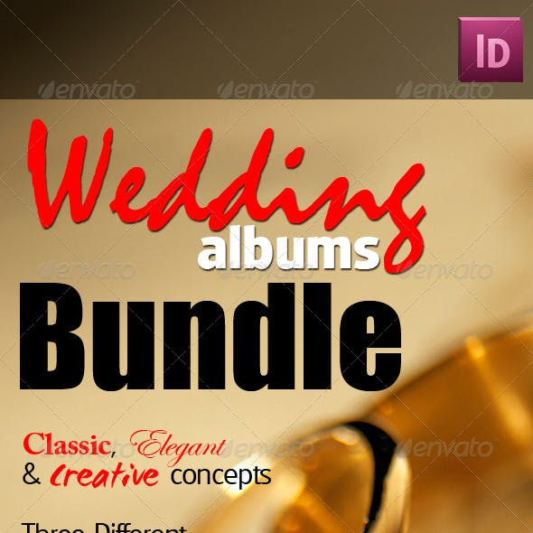 Wedding Albums Bundle