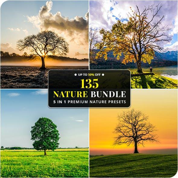 5 In 1 Nature Bundle Lightroom Presets