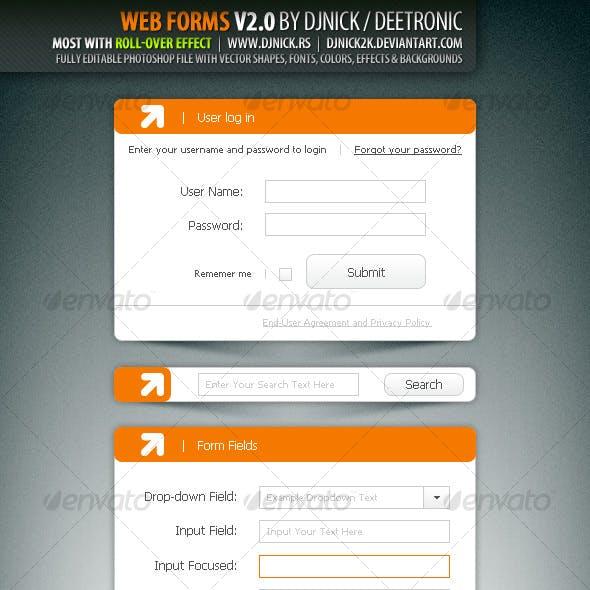 Web Forms V2.0 by djnick deetronic