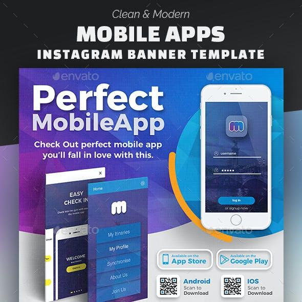 Mobile App Instagram Banner