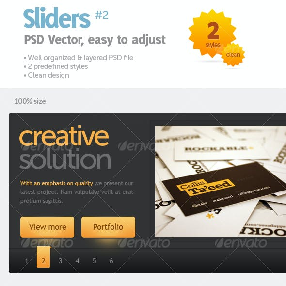 Sliders #2