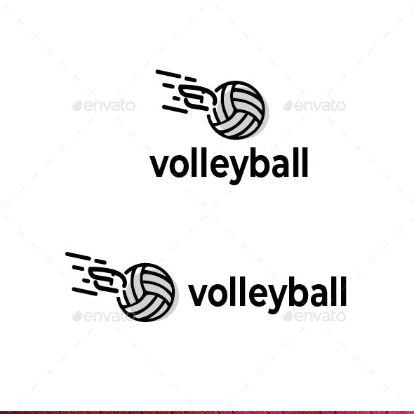 Volley Ball Logo