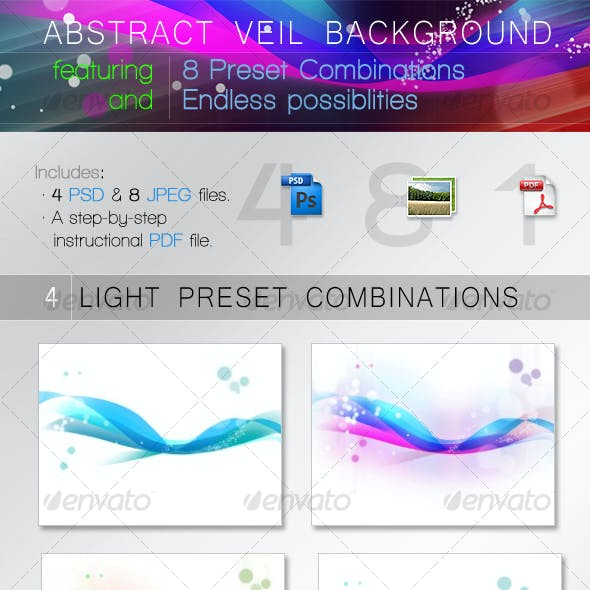 ABSTRACT VEIL BACKGROUND