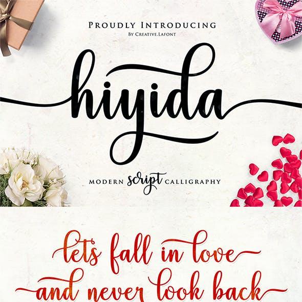 Hiyida Script Font
