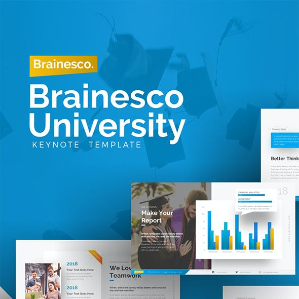 Brainesco Education Keynote Template