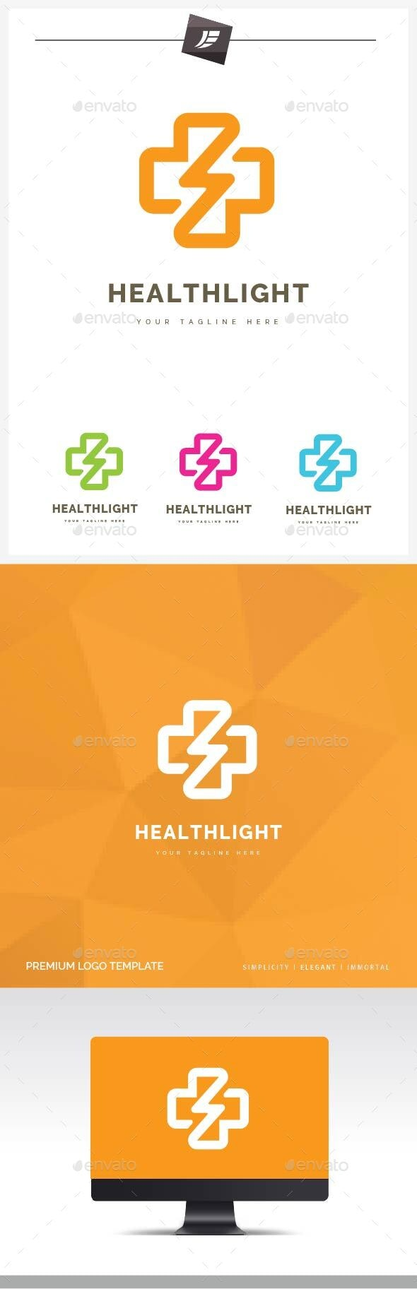 Health Light Logo - Symbols Logo Templates